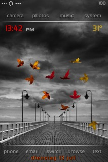 Dbar Mod Autumn Mobile Theme