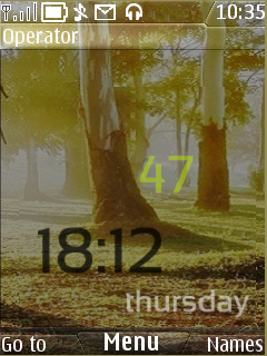 Android Look Nature Mobile Theme
