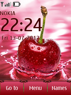 Cherry Drop Mobile Theme