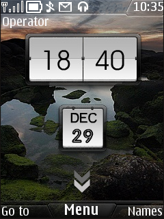 Iphone Clock Mobile Theme