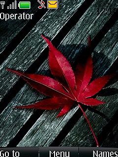 Leaf Mobile Theme