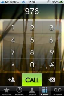 Dialer Rpund Mobile Theme