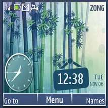 Bamboo Forest Mobile Theme