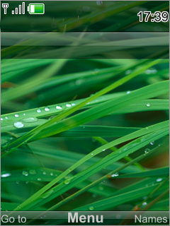IPhone Green Nature Mobile Theme