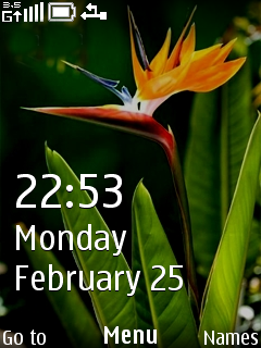 Focus Clock Mobile Theme