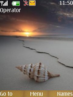 Sea Shell Mobile Theme