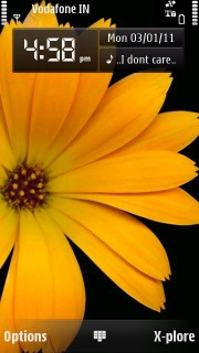 Omnia HD Sunflower Nokia S60v5 Theme Mobile Theme