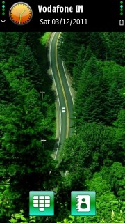 Green Jungle Highway S60v5 Theme Mobile Theme