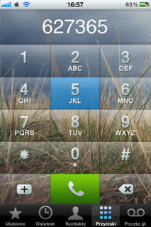 Glass Dialer Field IPhone Theme Mobile Theme