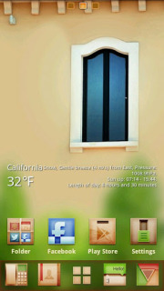 Abstract Window For Android Theme Mobile Theme