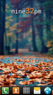 Fallen Leaves Autumn For Android Theme Mobile Theme