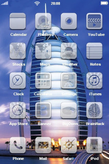 Burj Dubai For IPhone Theme Mobile Theme