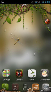 Flying & Nature For Android Theme Mobile Theme