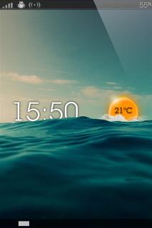 Rise Sun & Sea IPhone Theme Mobile Theme