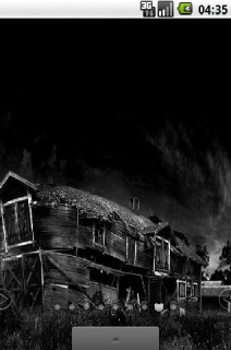 Old House Dark Night Android Theme Mobile Theme