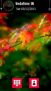 Color Leafs Nature S60v5 Theme Mobile Theme