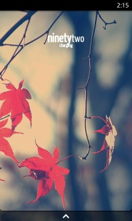 Autumn Leafs Nature Android Theme For Smartphones Mobile Theme