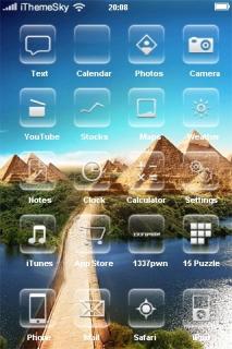 Bridge Utopia IPhone Theme Mobile Theme