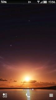 Sunset Red Sky Nokia S60v5 Theme Mobile Theme