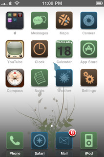 Earth Plant IPhone Theme Mobile Theme