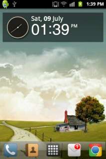 Autumn Field Beauty Android Theme Mobile Theme