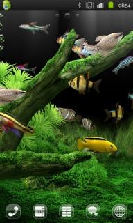 Underwater World Aquarium Android Theme Mobile Theme