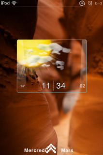 Big Meteo Rocks Mountain IPhone Theme Mobile Theme