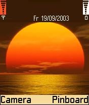 Sunset Theme Mobile Theme