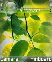 Vista Leaf Theme Mobile Theme