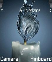 Water Theme Mobile Theme