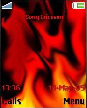 Flames Theme Mobile Theme