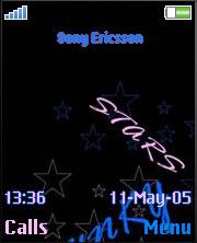 Funky Stars Theme Mobile Theme
