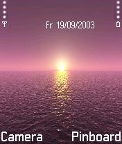Nokia Sunset Theme Mobile Theme