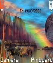 Rainbow Mobile Theme