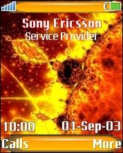 Solar-storm Theme Mobile Theme