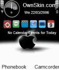 Black Apple Mobile Theme