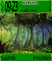 Forest Tress Mobile Theme
