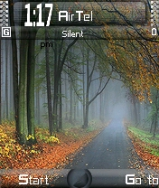 Road Traanquality Mobile Theme