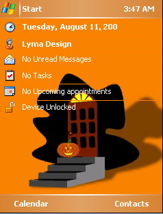 Halloween  Mobile Theme