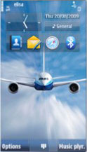 Aviator Symbian Theme Mobile Theme