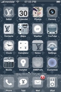 Fluxlv Apple IPhone Theme Mobile Theme