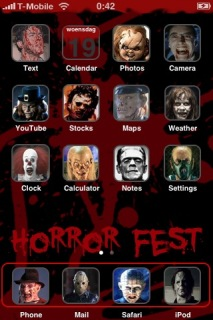 Horror Fest Apple IPhone Theme Mobile Theme