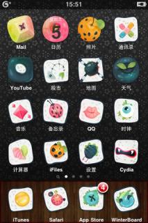 Sushi Apple Iphone Theme Mobile Theme