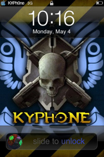 Kyle's Halo3 Apple IPhone Theme Mobile Theme