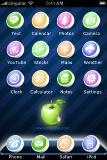 Magic IPhone Theme Mobile Theme