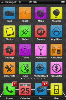 OGn IPhone Theme Mobile Theme