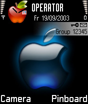 Apple Nokia Theme Mobile Theme