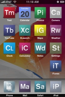 Adobe CS3 Theme Mobile Theme