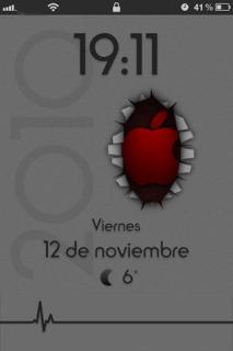 IHrT Lockscreen Mobile Theme