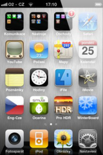 IPhone 4 Steel Mobile Theme